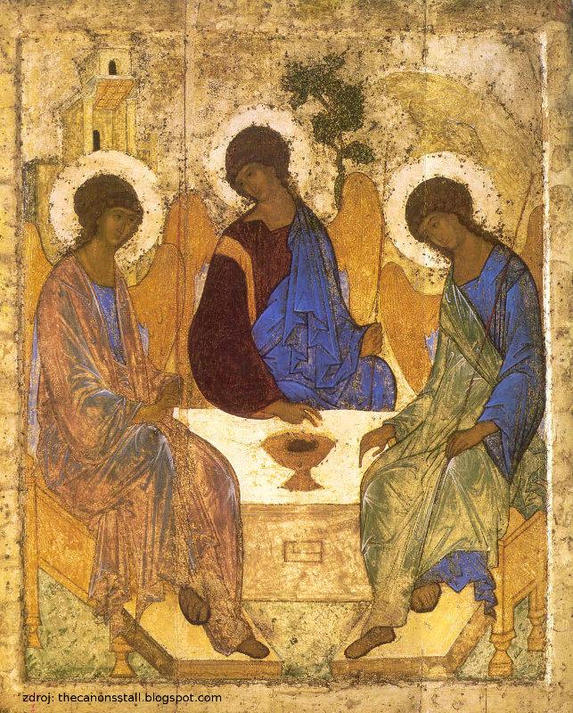 Andrej Rublev: Nejsvětější Trojice
