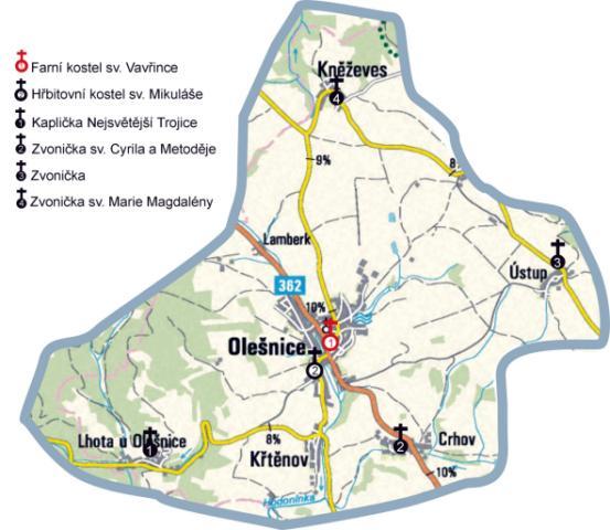 mapa farnosti